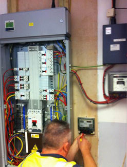 Specialist Electrical Contracting Services from Meridian Environmental